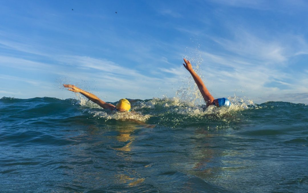 How to adapt your stroke to swim in the ocean